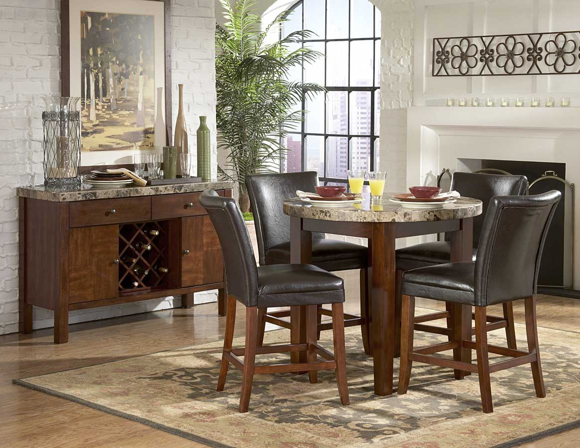Homelegance Achillea Round Counter Height Dining Collection