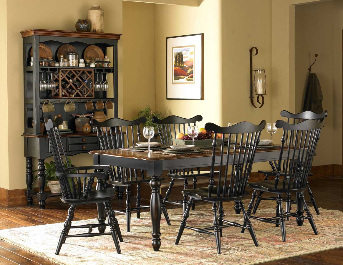 Homelegance Lorna Dining Collection Black