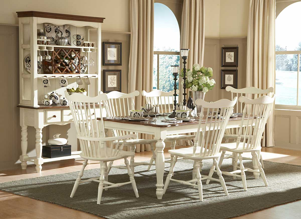 Homelegance Lorna Dining Collection White