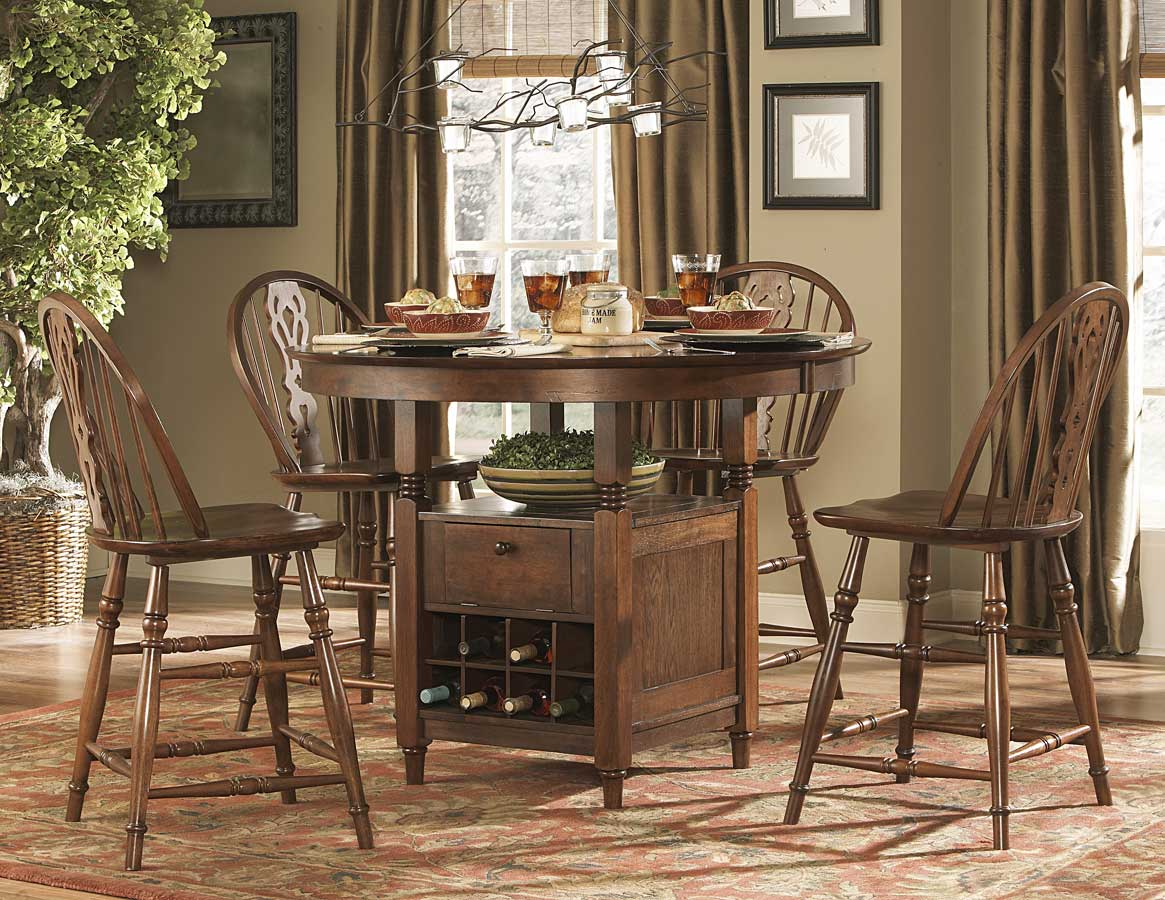 Homelegance Hutto Round Counter Height Dining Collection