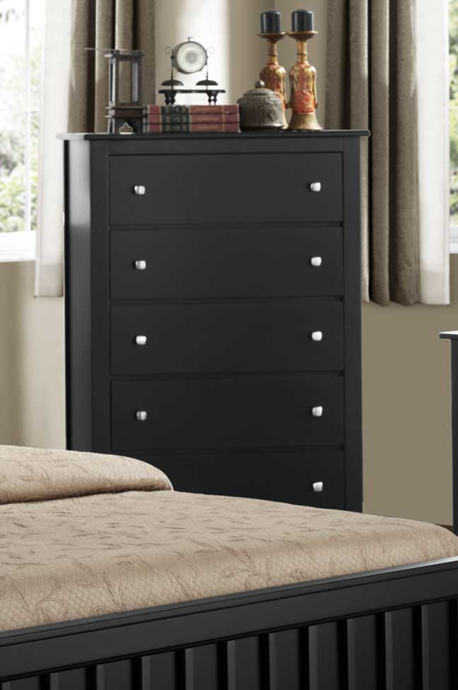 Homelegance Harris Chest - Black