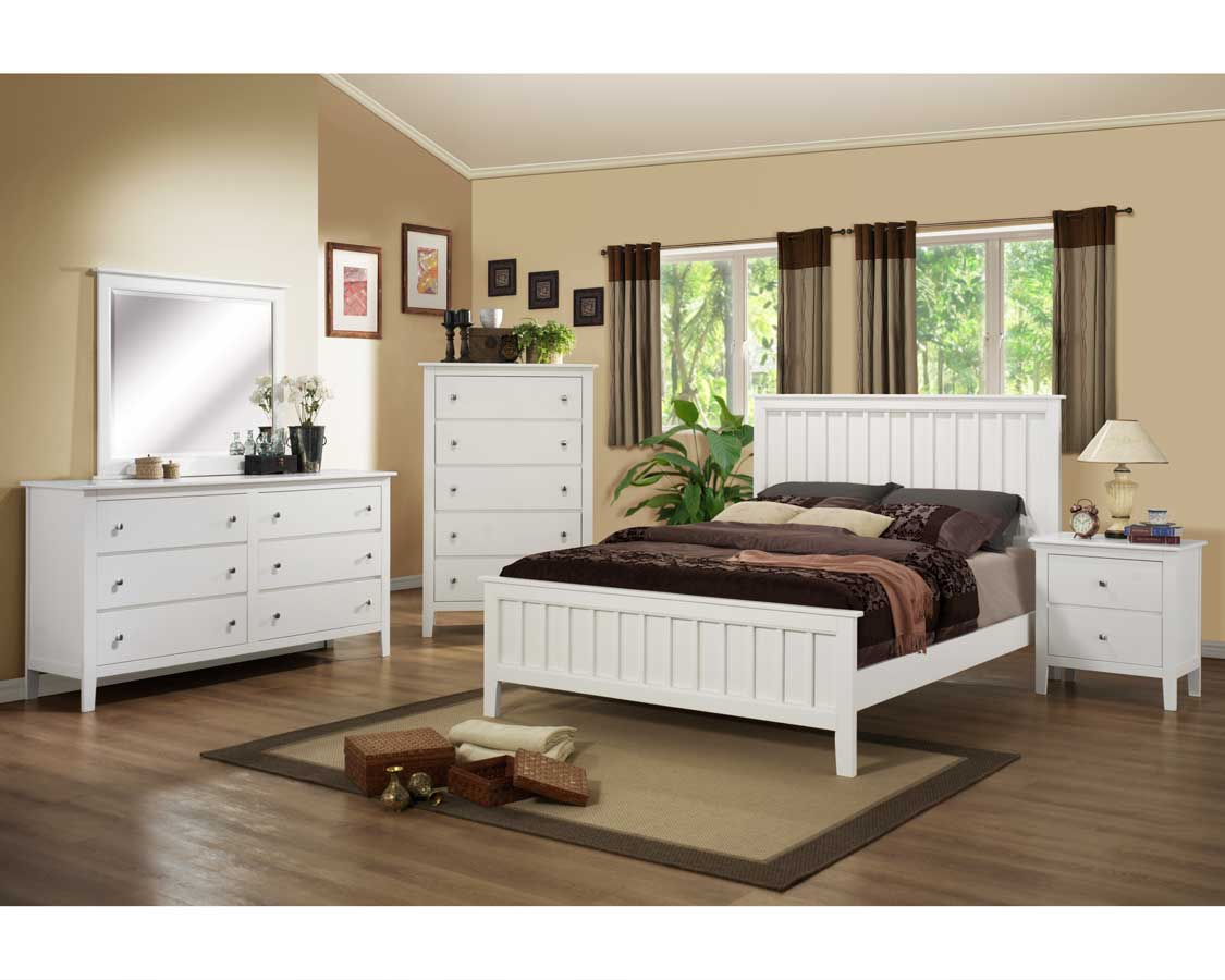 Homelegance Harris Bedroom Set - White