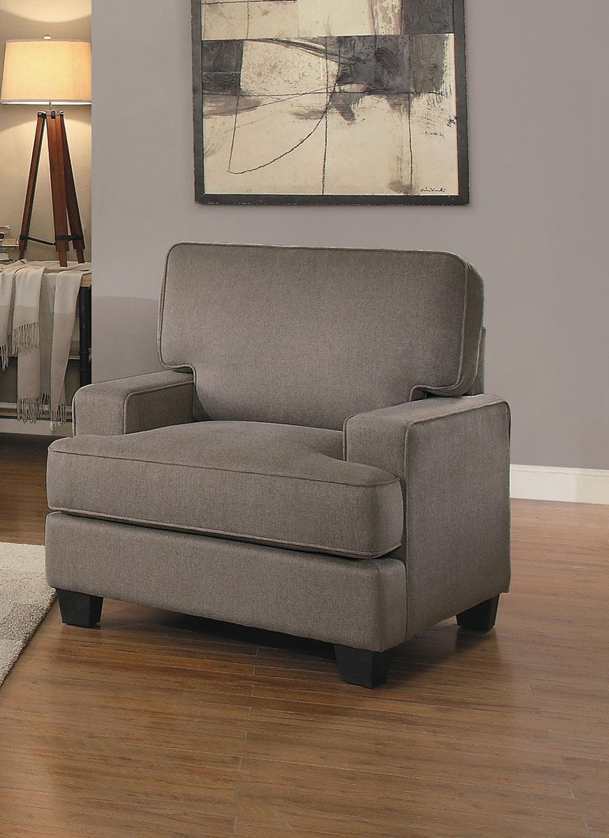 Homelegance Kenner Chair - Brown Fabric