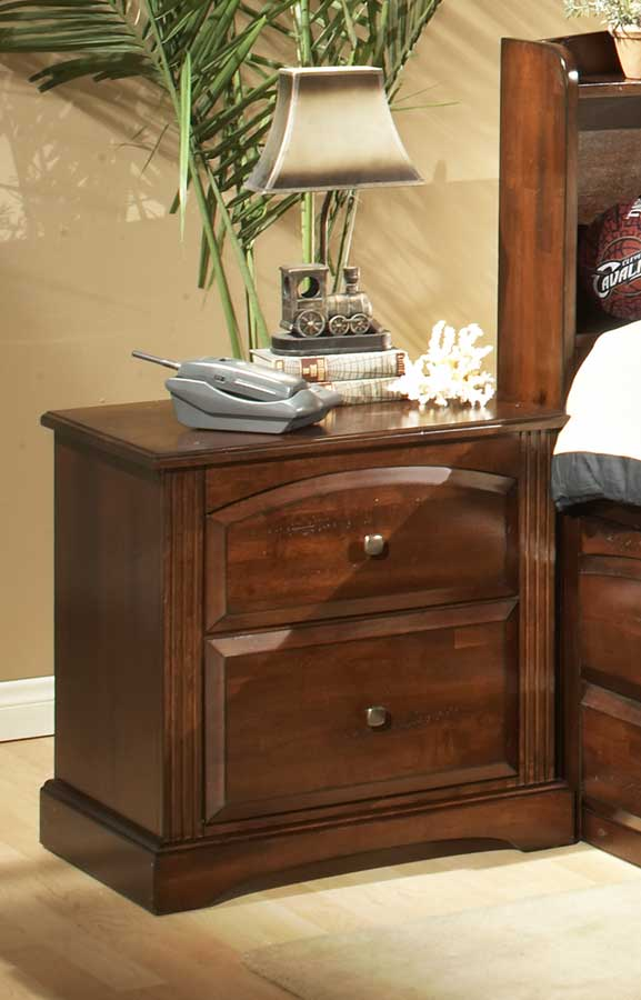 Truckee Night Stand-Cherry-Homelegance