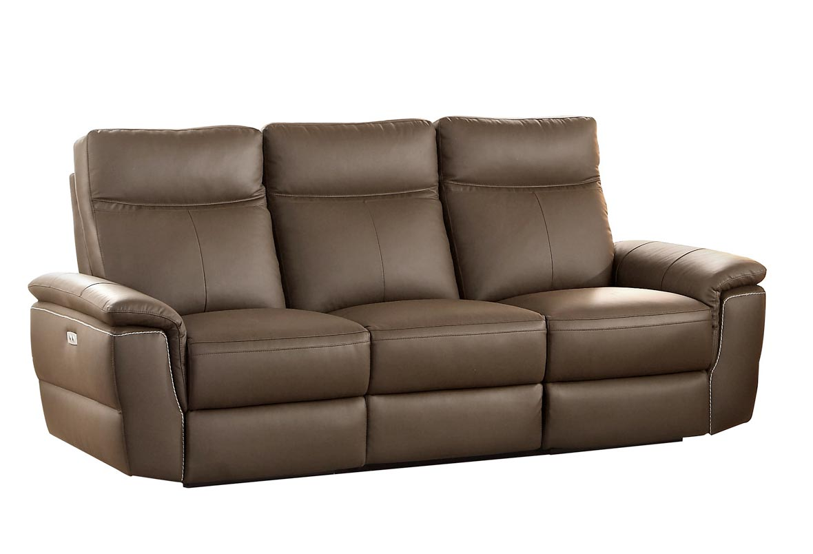 Best Reclining Leather Sofa