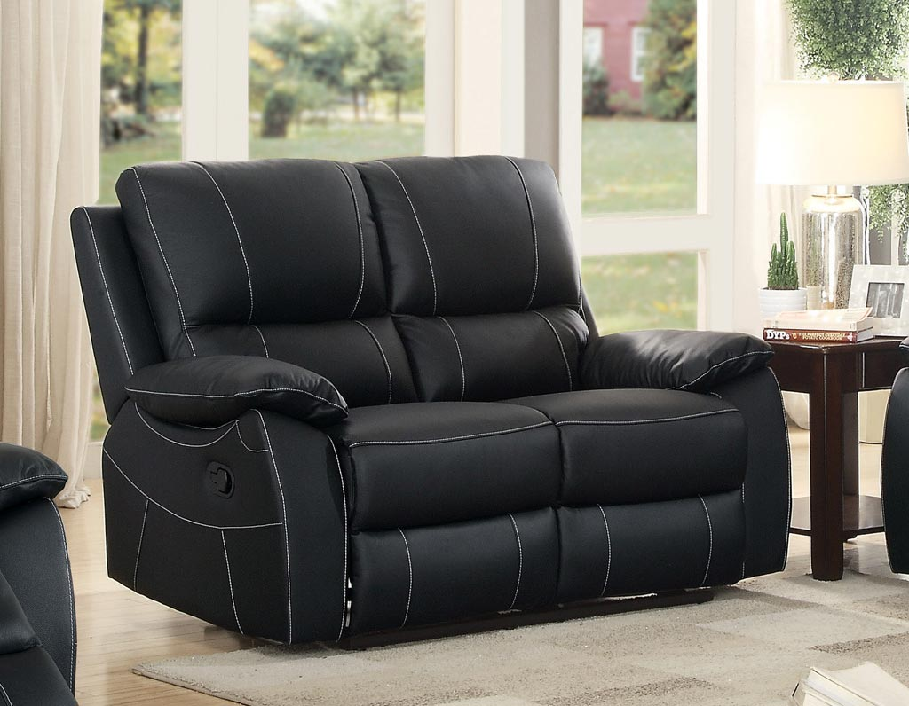 Homelegance Greeley Double Reclining Love Seat Top Grain Leather