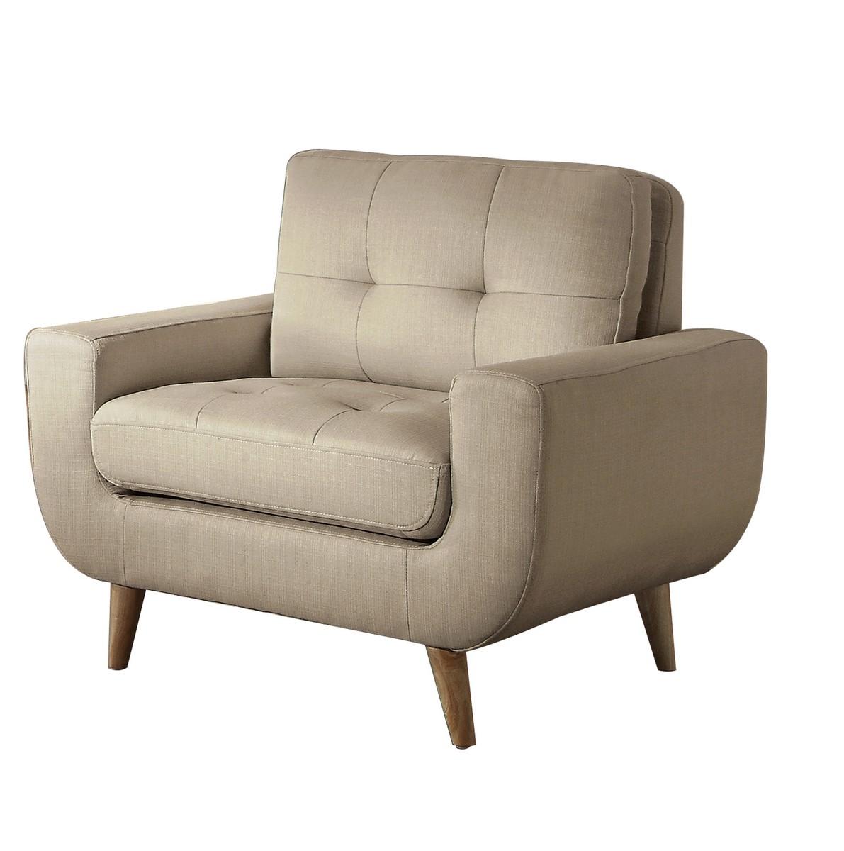Homelegance Deryn Chair - Polyester - Beige