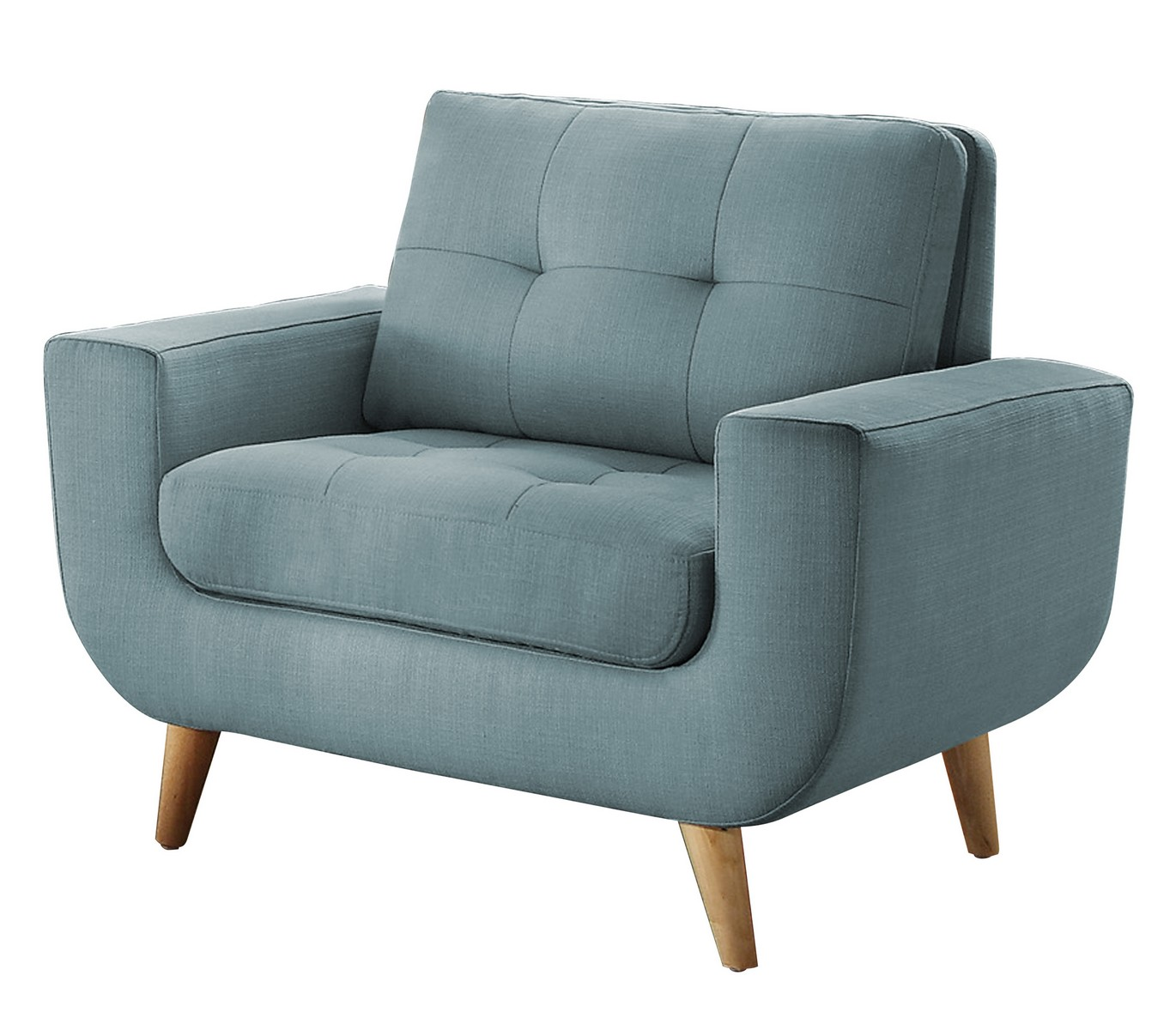 Homelegance Deryn Chair - Polyester - Teal
