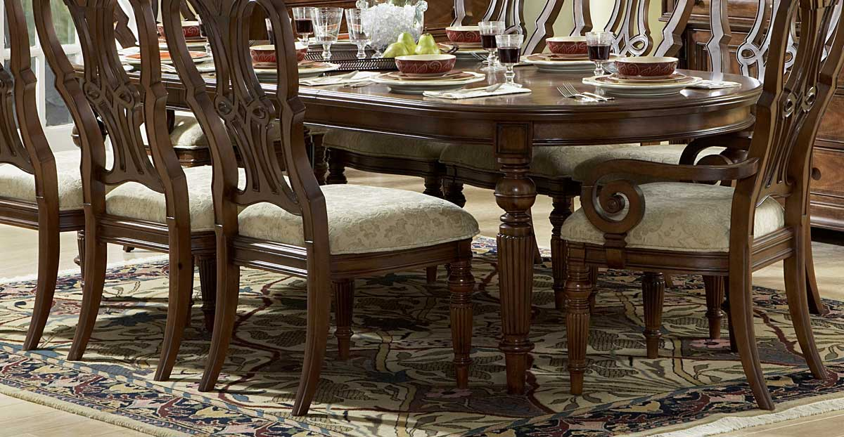 Homelegance English Manor Dining Table 834 100