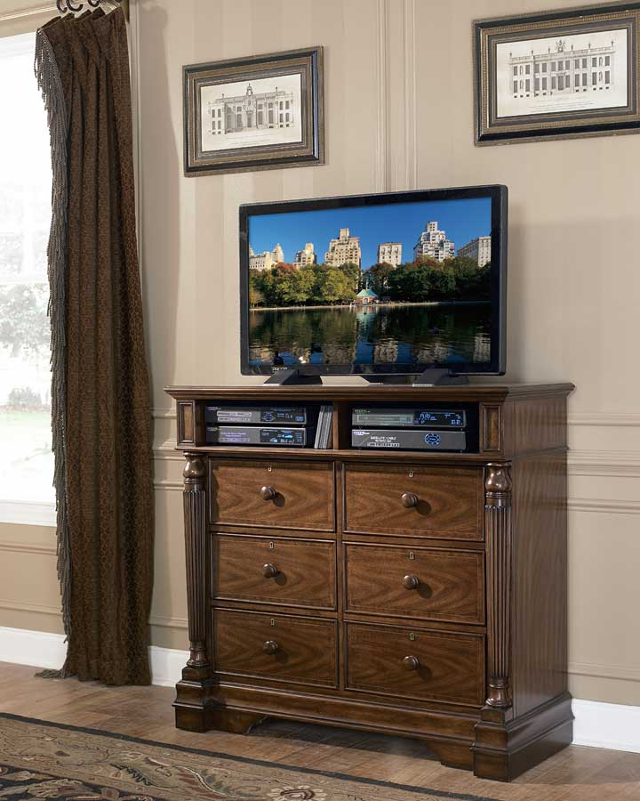 Homelegance English Manor TV Chest