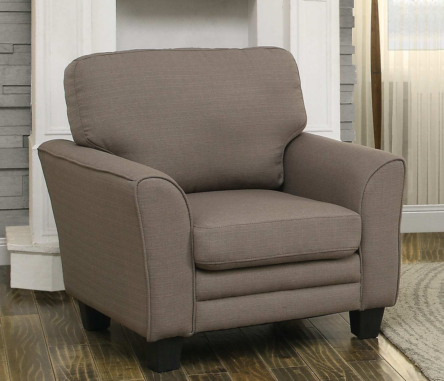 Homelegance Adair Chair - Grey