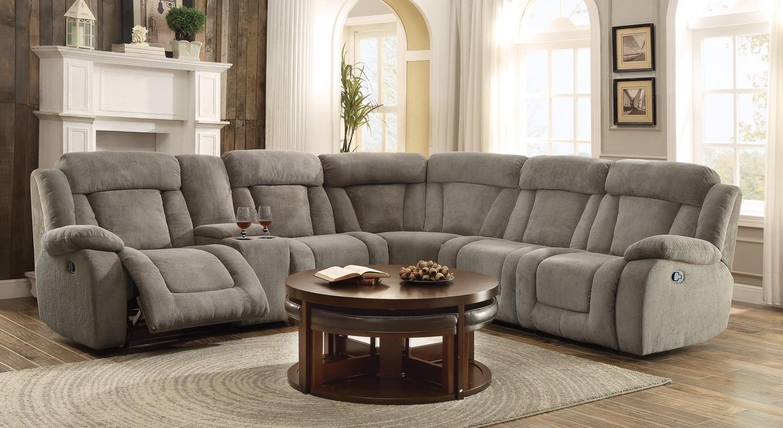Homelegance Calumet Ridge Reclining Sectional Sofa Set