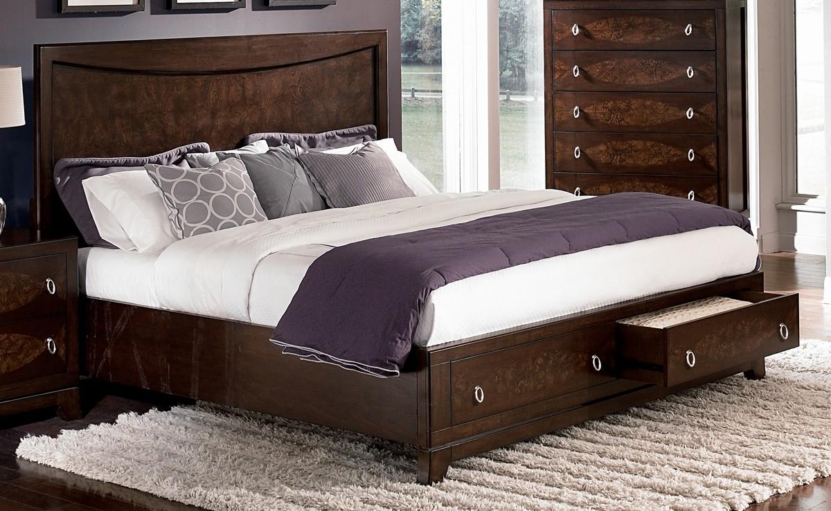 Homelegance Lakeside Platform Storage Bed