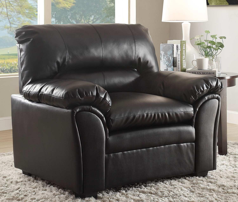 Homelegance Talon Chair - Black