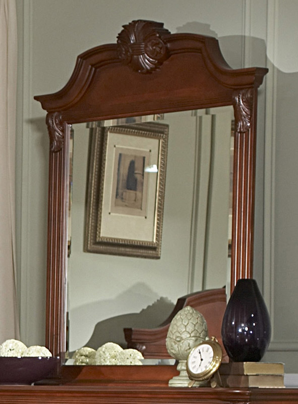 Homelegance Legacy Mirror - Cherry