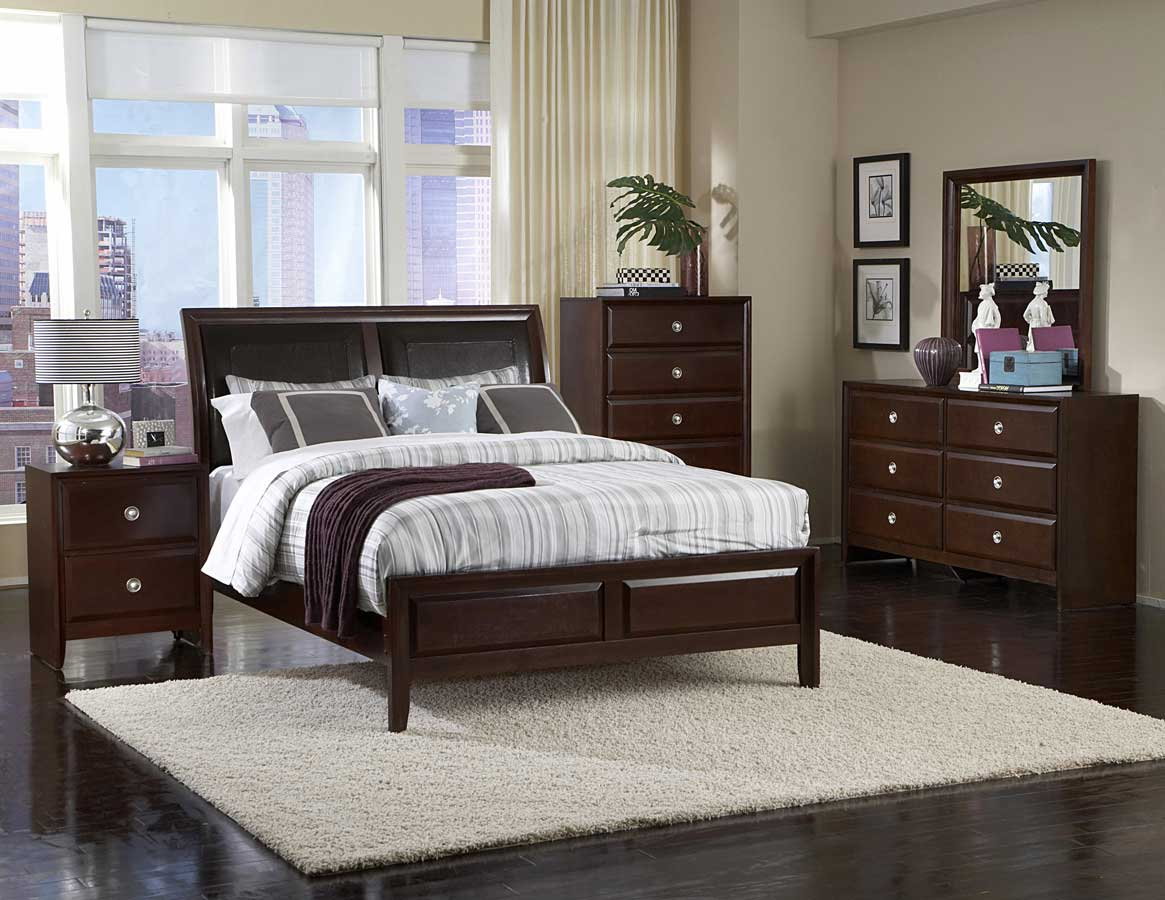 Homelegance bridgeland bedroom set b879 bed set at for Bedroom ideas for light wood furniture