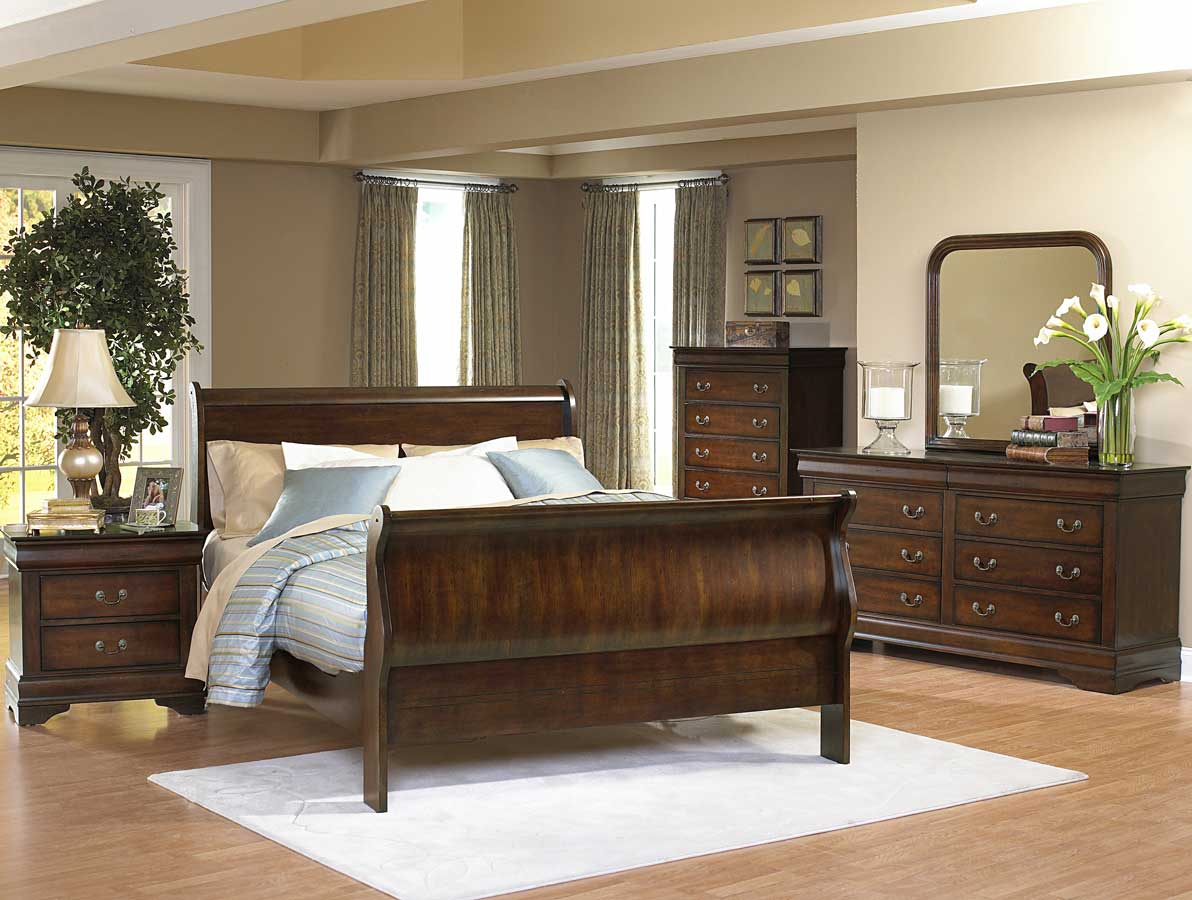 Homelegance Dijon II Sleigh Bed Collection