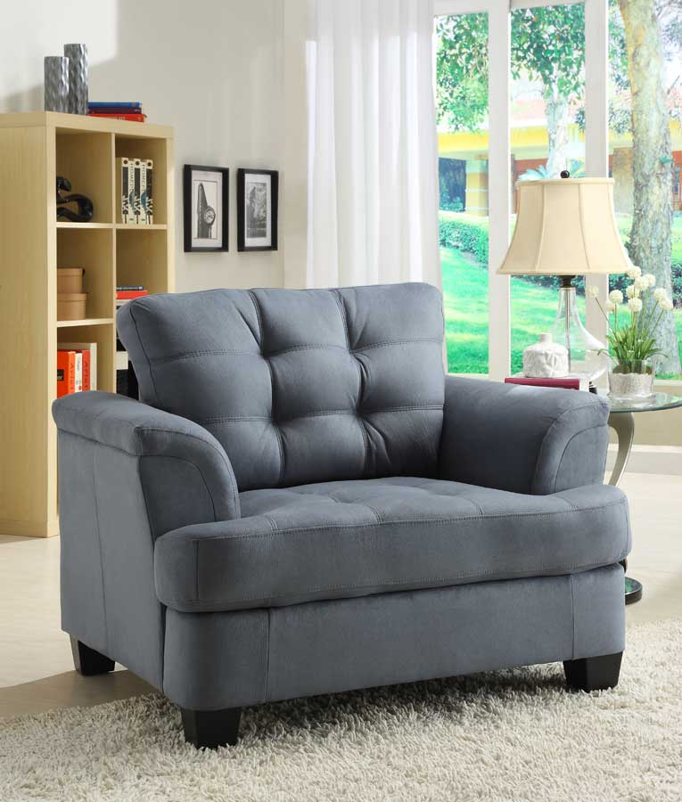 St. Charles Chair - Blue Gray - Homelegance