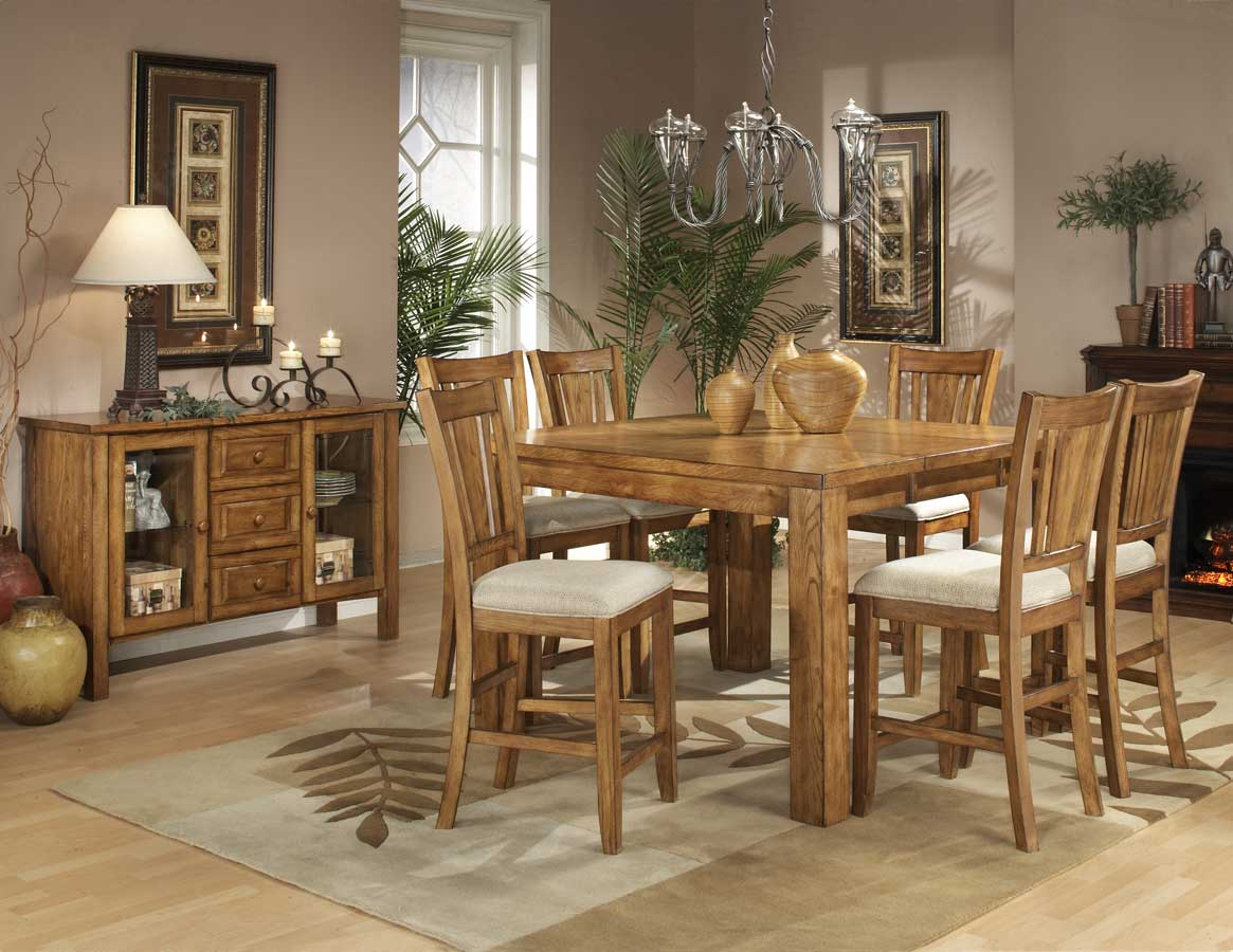 Homelegance Fusion Counter Height Dining Collection-Light Oak