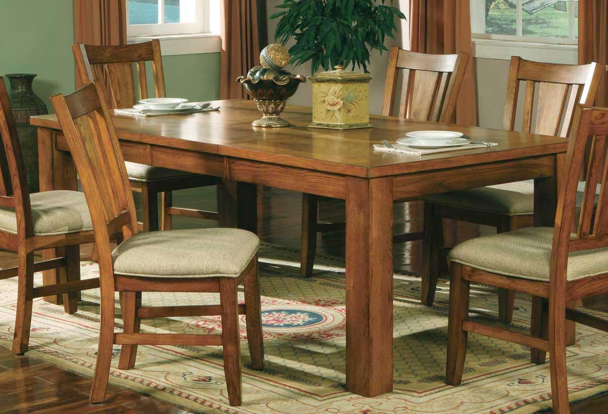 Homelegance fusion dining table light oak 986n 78 at for Light oak dining tables