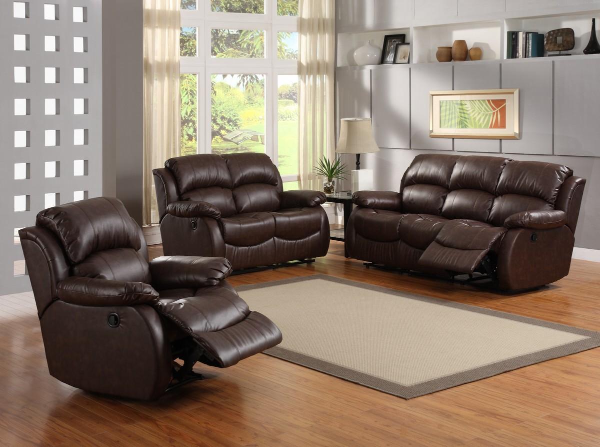 Homelegance Mcgraw Motion Reclining Sofa Set U9887 Sofa