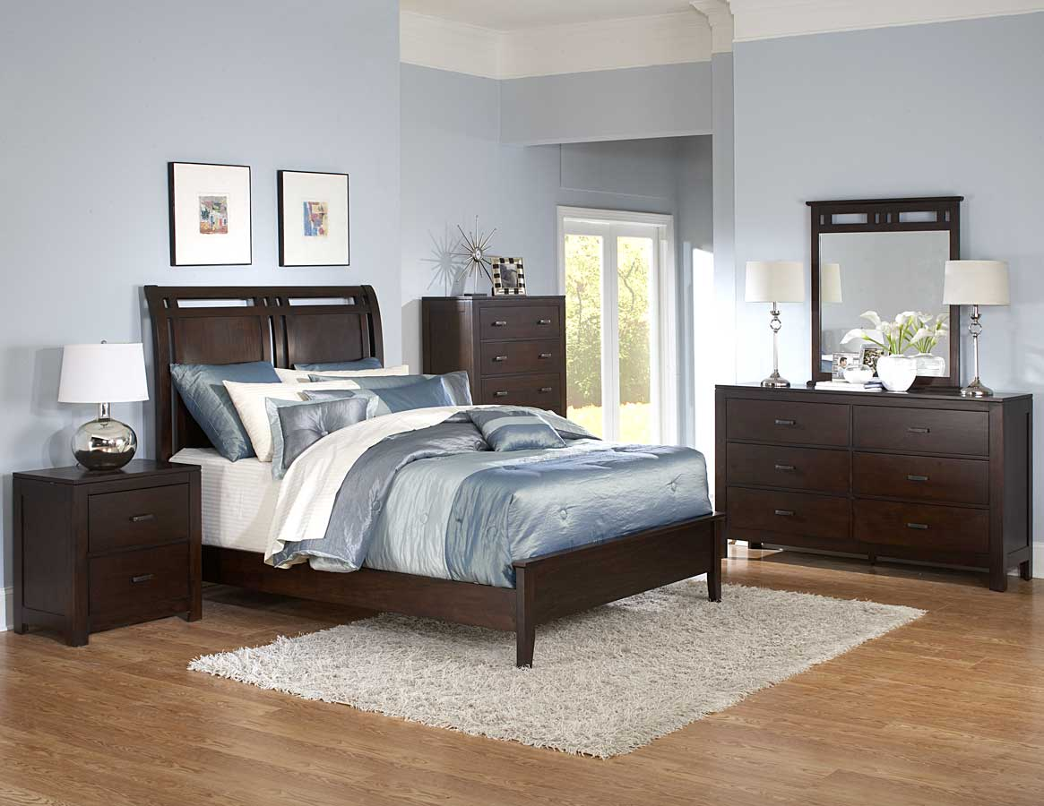 bed set on Topline Bedroom Set   Homelegance  B989 Bed Set   Contemporary Bedroom
