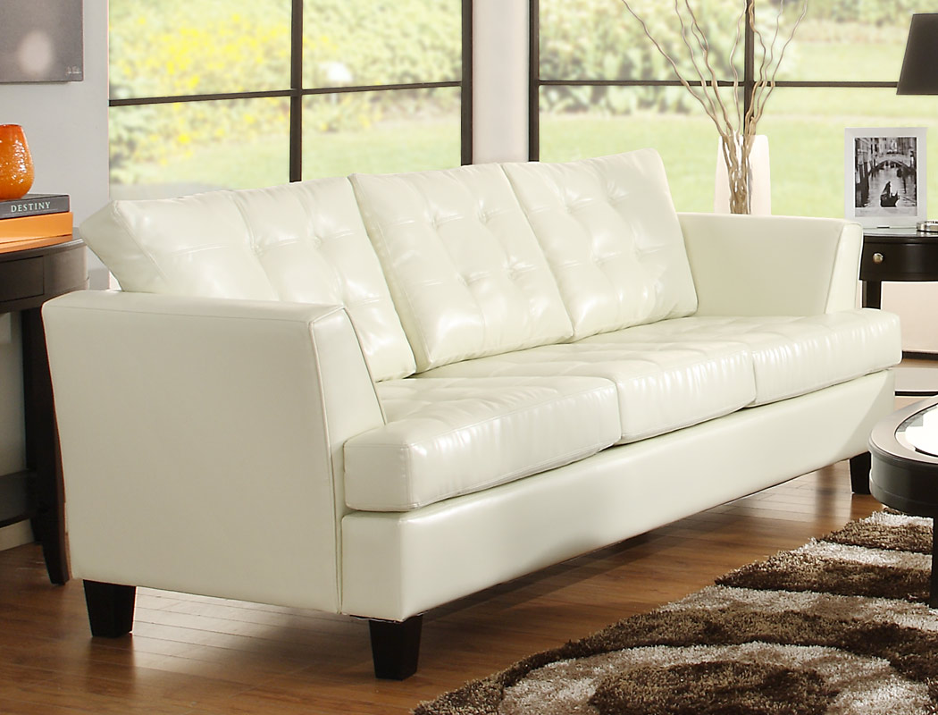 Homelegance Della All Bonded Leather Sofa Set