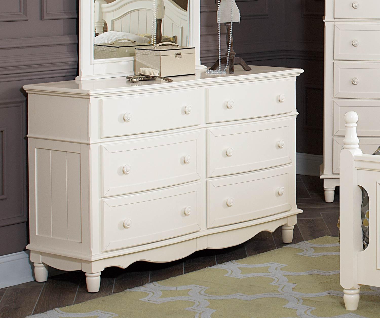 Homelegance Clementine Dresser - White