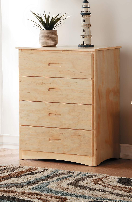 Homelegance Bartly Bedroom Set Natural Pine B2043 Bedroom Set At