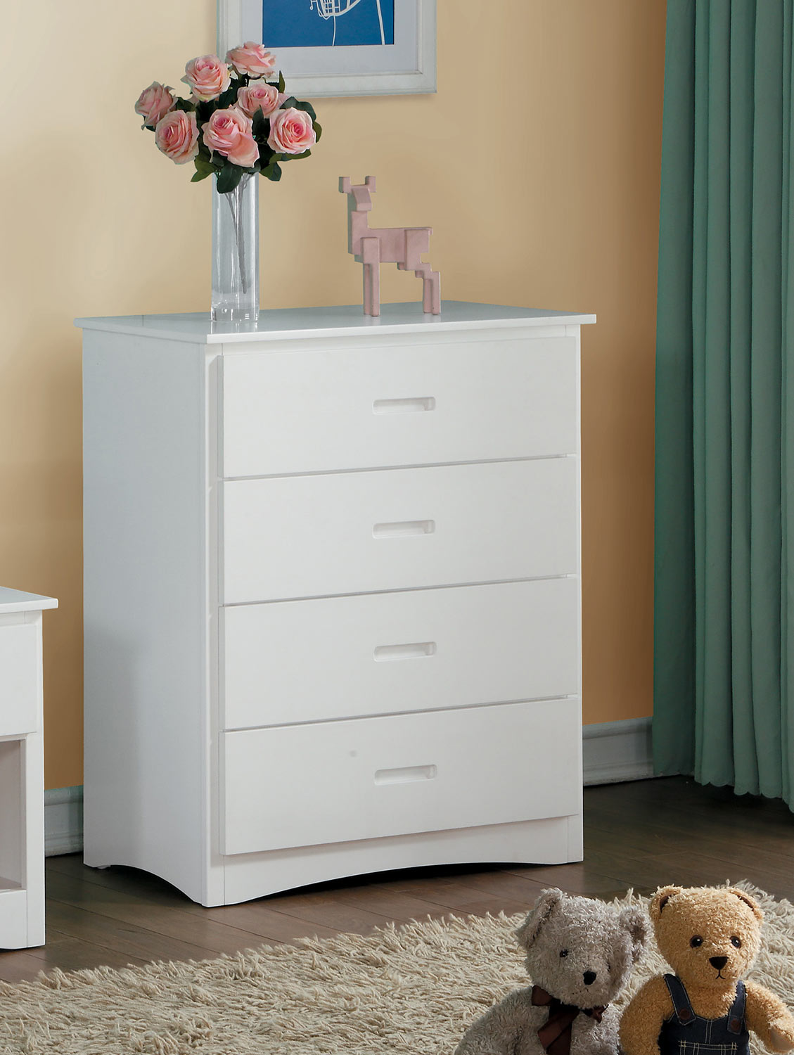 Homelegance Galen Chest - White