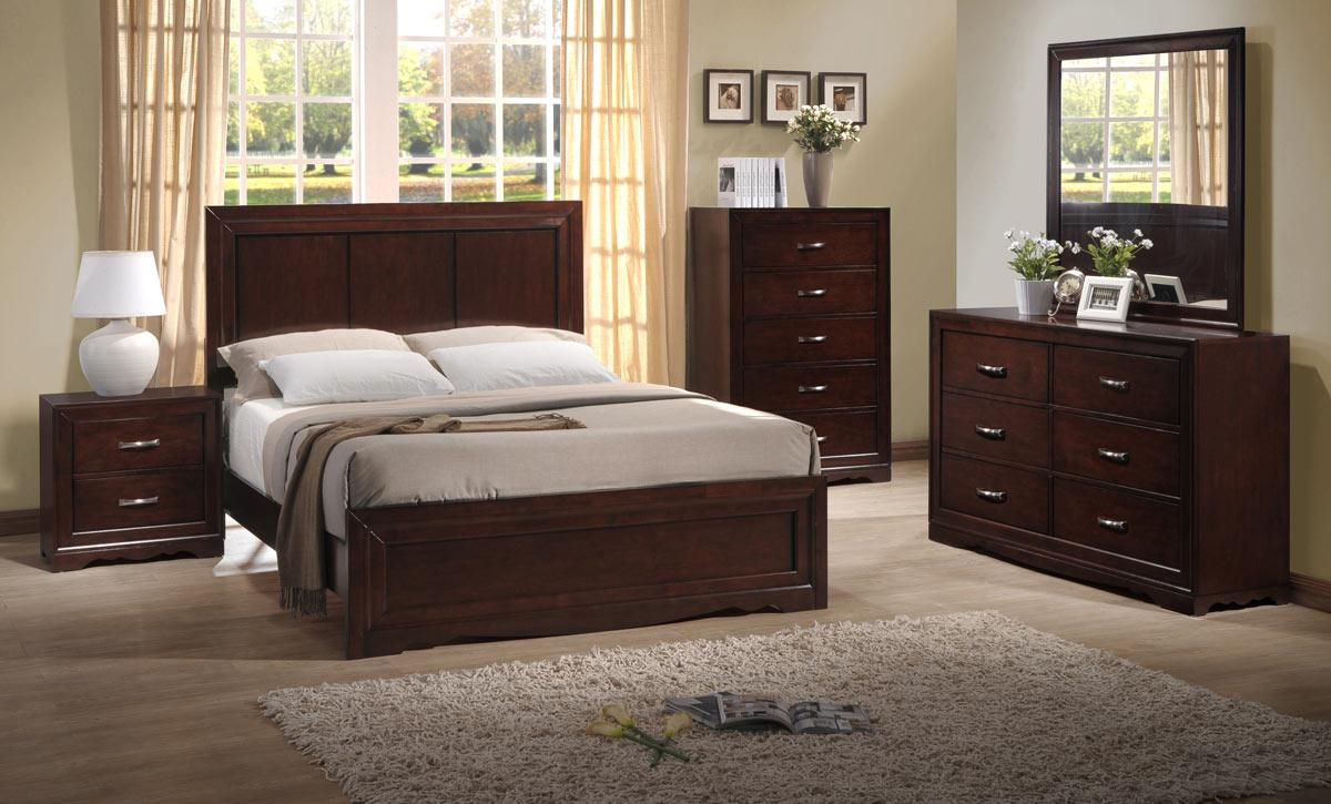 quality pulaski 5031 bed set del corto poster bedroom