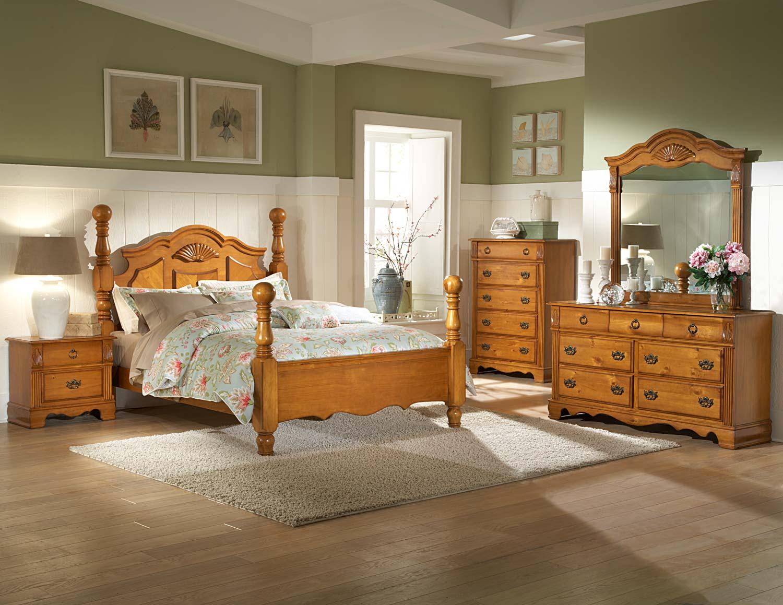 Homelegance Archdale Bedroom Set - Pine