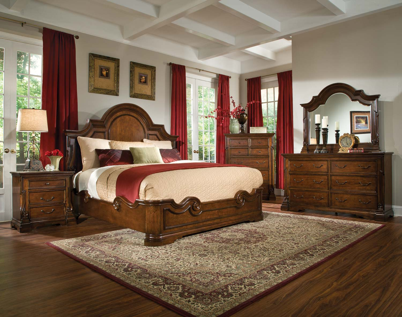 Homelegance Havenwood Low Profile Bedroom Set - Cherry