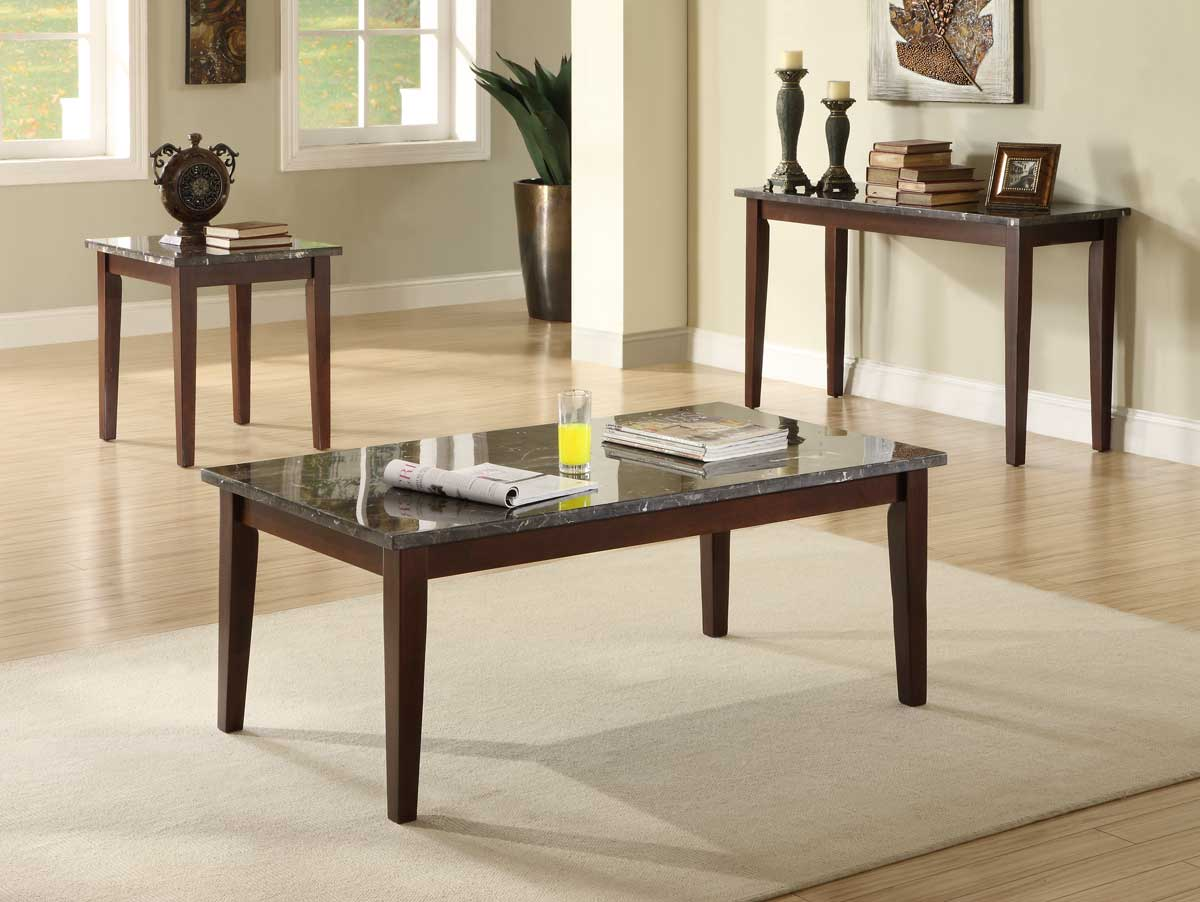 Info about Homelegance C Decatur Occasional Set Espresso Product Photo