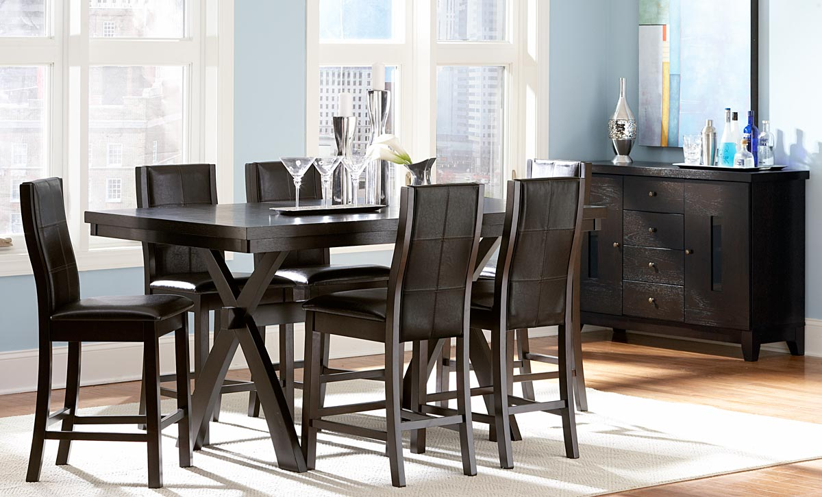 Sherman Counter Height Dining Set - Homelegance