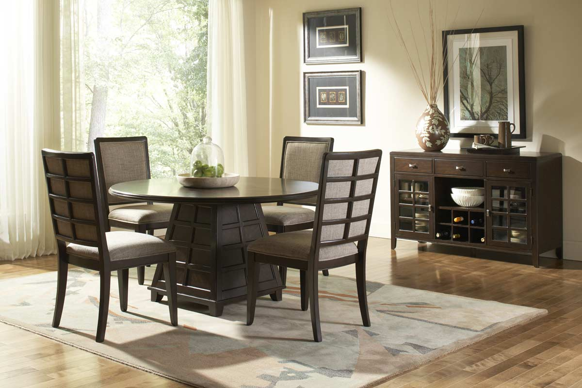 Homelegance Dempsey Round Dining Set