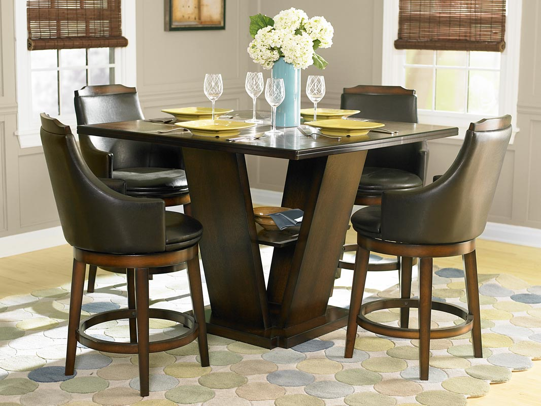 Bar Height Kitchen Table Set Homelegance Bayshore Counter Height Dining Table 5447 36 At