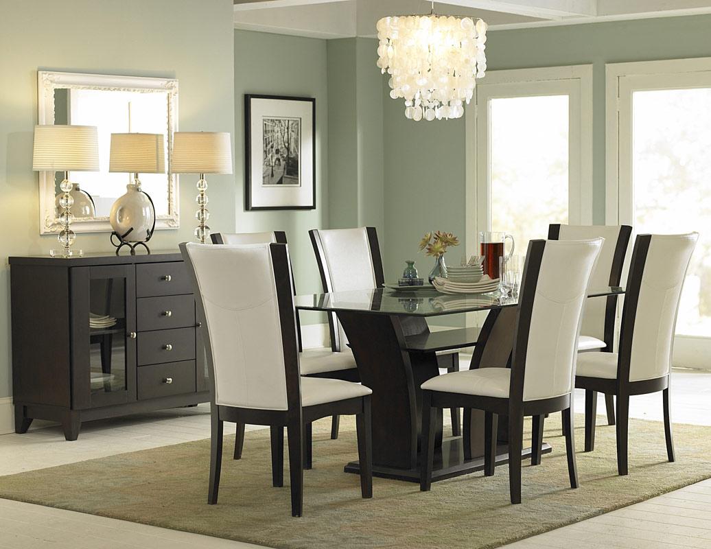 Glass Dining Room Furniture Ideas Homelement.com