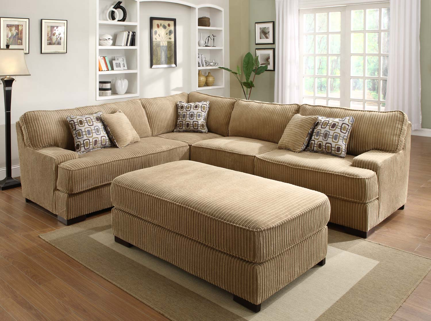Superb Homelegance U SECT Minnis Sectional Sofa Set  Product Photo