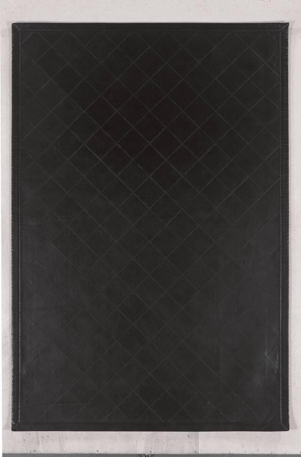 Art Leather - Diamond - Black - Hellenic Rug
