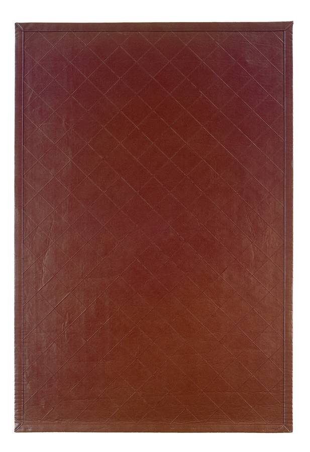 Art Leather - Diamond - Brown - Hellenic Rug