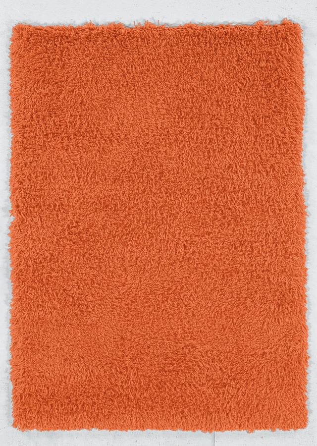 Ultimate Shag - Orange - Hellenic Rug
