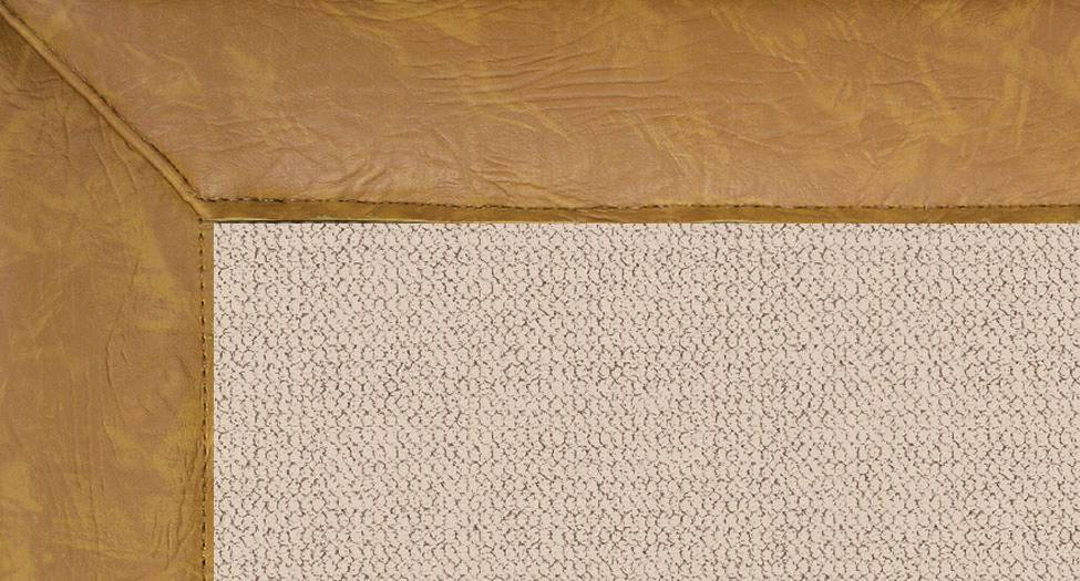 Athena - Natural-Gold Leather - Hellenic Rug