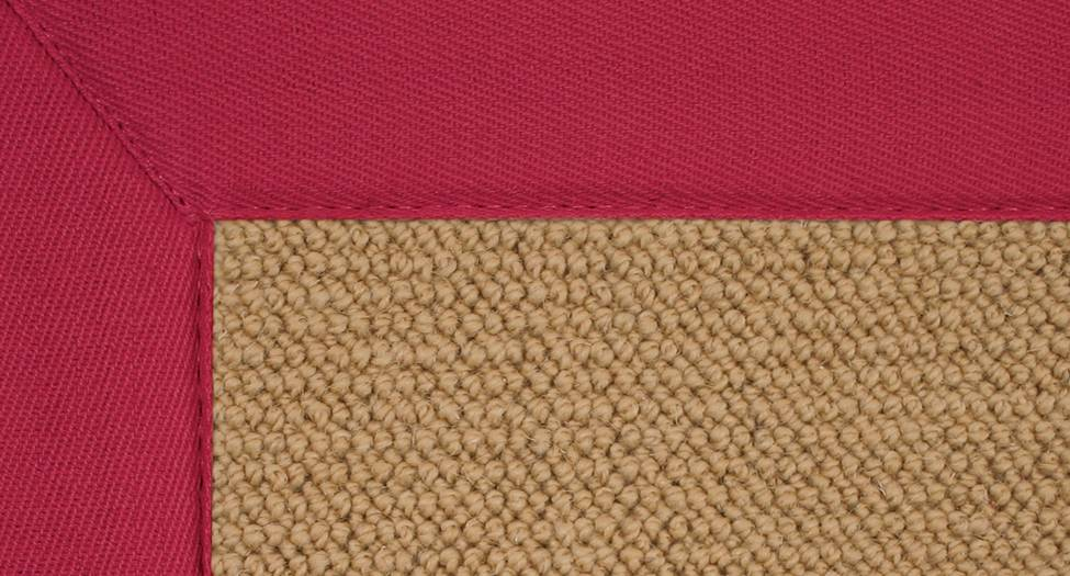 Athena - Sisal-Red - Hellenic Rug