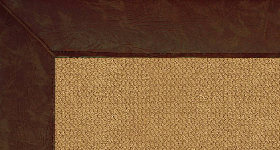 Athena - Cork-Brown Leather - Hellenic Rug