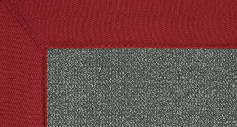 Athena - Charcoal-Red - Hellenic Rug