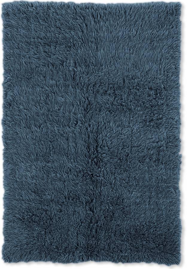 New Flokati - Denim Blue - Denim Blue - Hellenic Rug