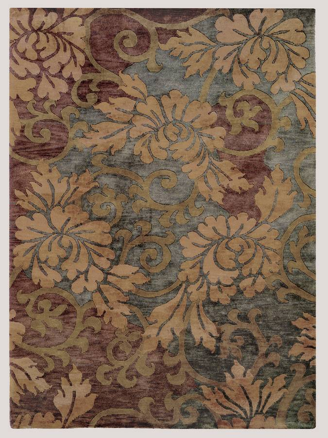 Essential Nature - Scenery - Slate-Gold - Hellenic Rug