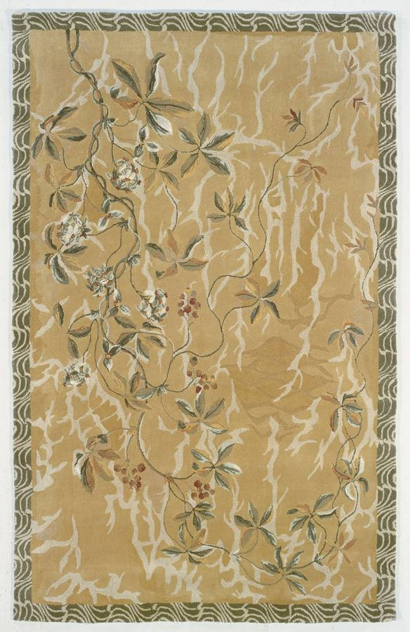 Inspirations - Autumn - Green-Gold - Hellenic Rug