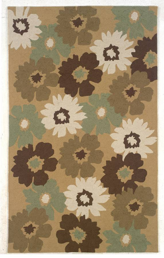 Indoor & Outdoor - Spring Forward - Brown-Olive - Hellenic Rug
